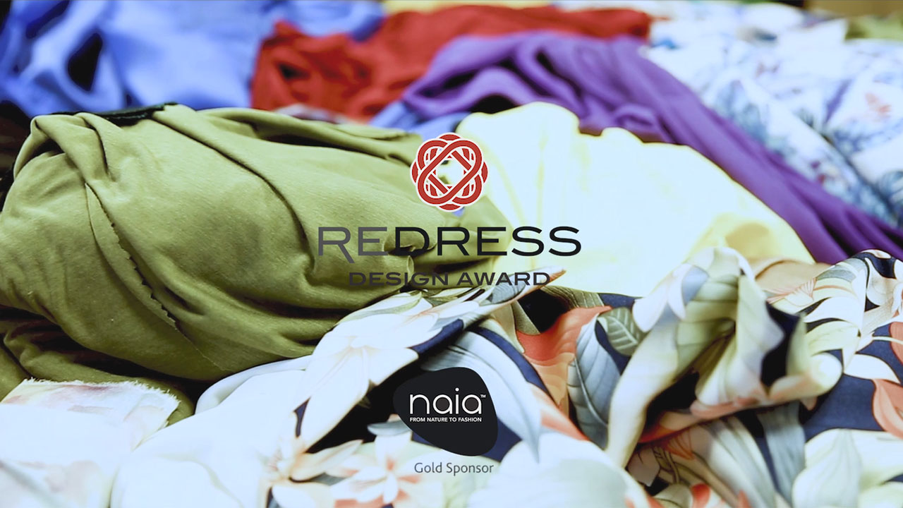 Eastman Naia™ sustainable fabrics in Redress Design Award designers collections