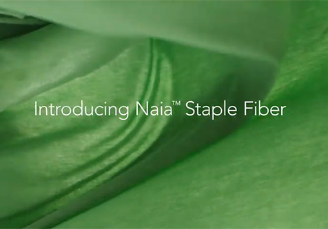 Discover sustainable Eastman Naia™ cellulosic staple fiber