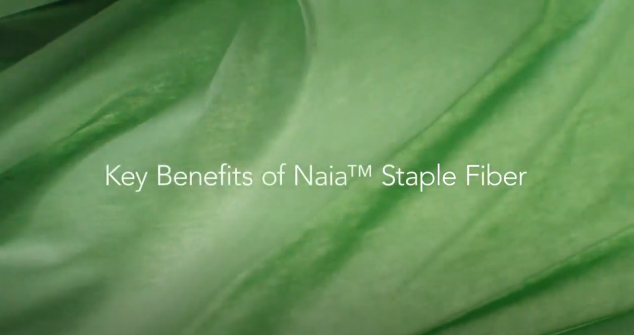 Key Benefits of Naia™ cellulosic staple fiber